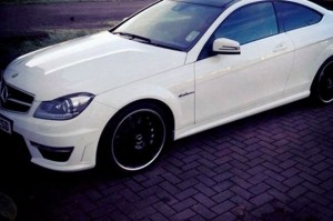 """£60,000 white Mercedes AMG sport"" - One of Commons' cars in 2014"